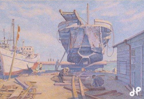 海辺の光景