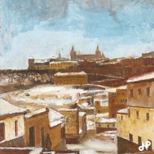 トレド雪景