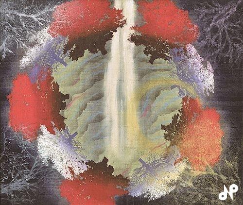 滝と円樹林「マンダラ」